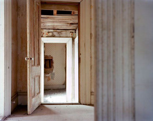 Corinne May Botz, Abandoned House, Frankfurt, Maine