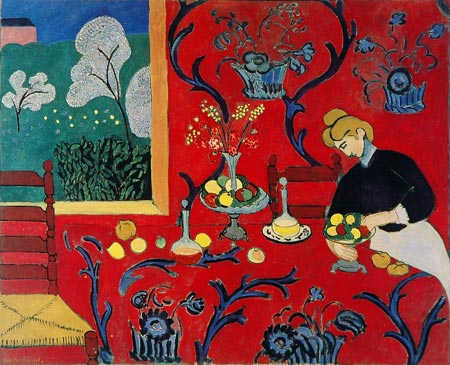 Henri Matisse: Harmony in Red, 1908