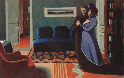 Félix Vallotton: The Visit, 1899